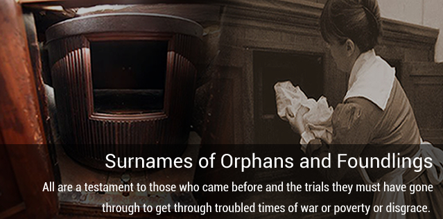 Surnames of Orphans and Foundlings