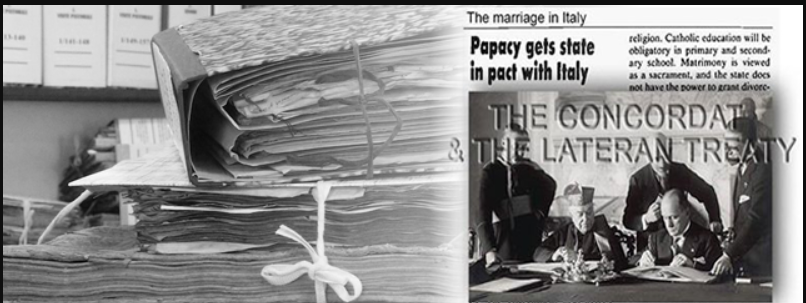 The marriage in Italy – The Concordat