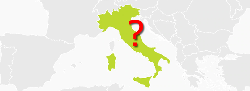 Finding the town of origin of Italian immigrants